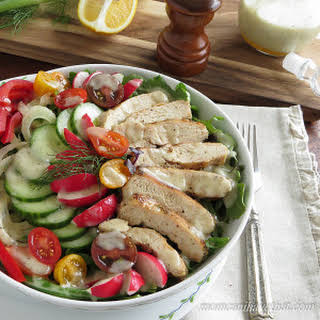 Low Carb Chicken Salad | 5 Net Carbs.