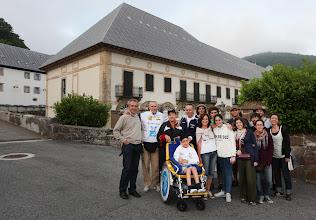 Photo: Día -1.- Colegiata de Roncesvalles. Con Pablo Ramón (Native Hotels) y el equipo de La Maleta