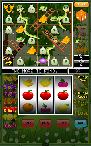 Slot Machine: Snakes and Ladders. Casino Slots.