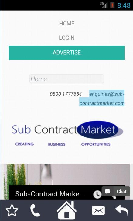 SubContract Market- screenshot