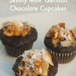 Double German Chocolate Mini Cupcakes