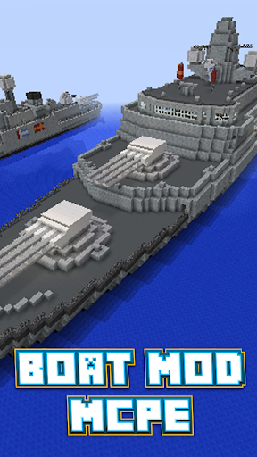 Boat Mod For MCPE*