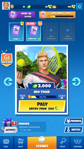 Tennis GO : World Tour 3D 0.5.1 screenshots 6