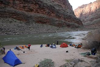Photo: Awesome camp amongst the big walls