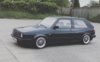 Volkswagen Golf 2 Rent Midtjylland
