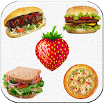 Food stickers for whatsapp - WAStickerApps Icon