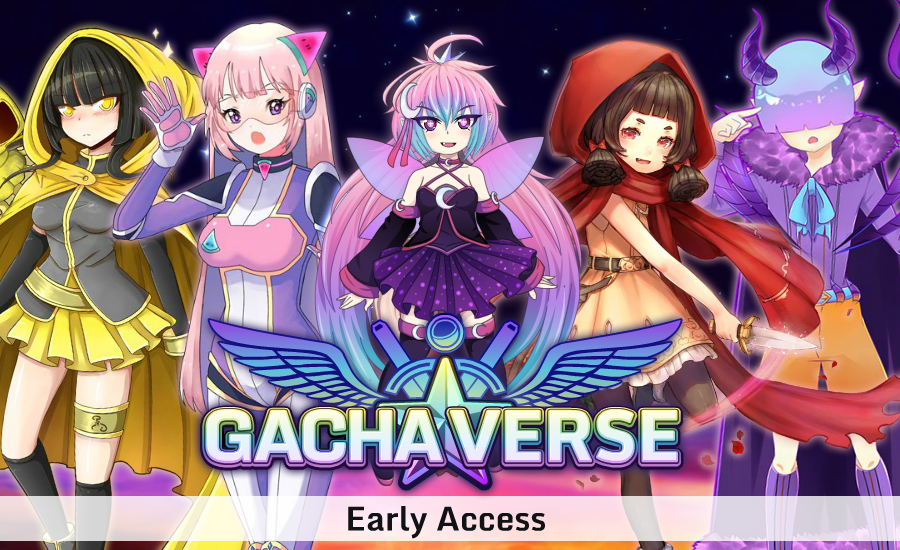 Gachaverse (RPG & Anime Dress Up) Android App Screenshot