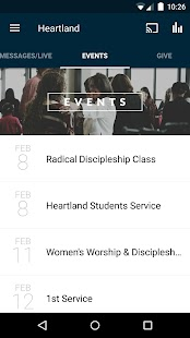 The Heartland Church- screenshot thumbnail