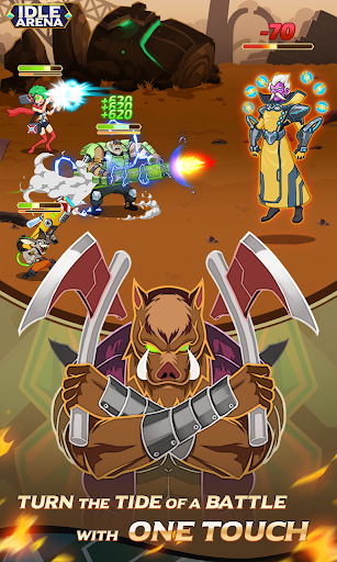 Idle Arena - Clicker Heroes Battle 31 screenshots 14