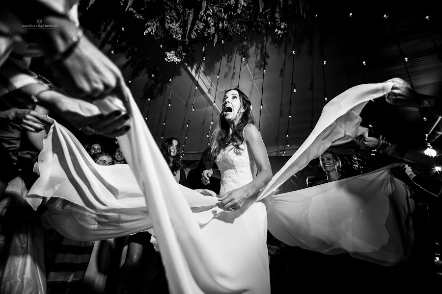Wedding photographer Daniela Díaz burgos (danieladiazburg). Photo of 23.11.2016