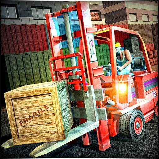 Transporter USA Truck Simulation Forklift Crane (game)