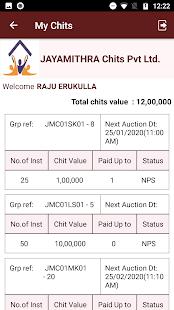 Download Jayamithra Chits Member Module For PC Windows and Mac apk screenshot 3
