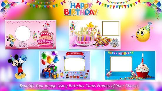 birthday card photo frames apps on google play