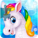 Unicorn Jigsaw Puzzle for Kids - Toddlers icon