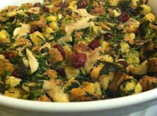 Chicken Spinach Cranberry Casserole Recipe