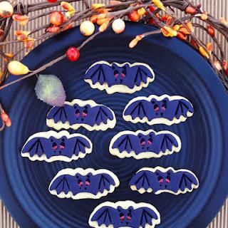 Bat Sugar Cookies
