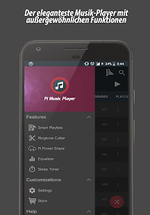 Pi Music Player Screenshot