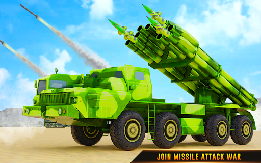 US Army Robot Missile Attack: Truck Robot Games modavailable screenshots 11