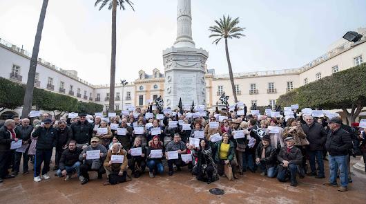El TSJA admite el recurso de las asociaciones para parar la obra en Plaza Vieja