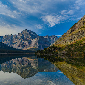 Reflections by Sean Cogan - Landscapes Waterscapes ( reflection, mountain, lake, travel, landscape, travel photography,  )