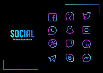 Minma Pro Icon Pack (MOD, Paid) v1.1 5