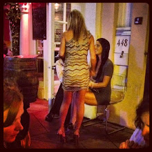 Photo: Without amazingly high heels and a skin-tight dress, I was so underdressed