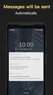 Do It Later - Text Message Automation Screenshot