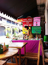 Photo: Roadside food stand. Omelette and rice plus drinks for $3/2 plates.