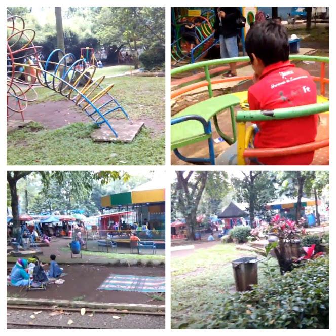 Suasana Taman Lalu Lintas Ade Irma Suryani Nasution