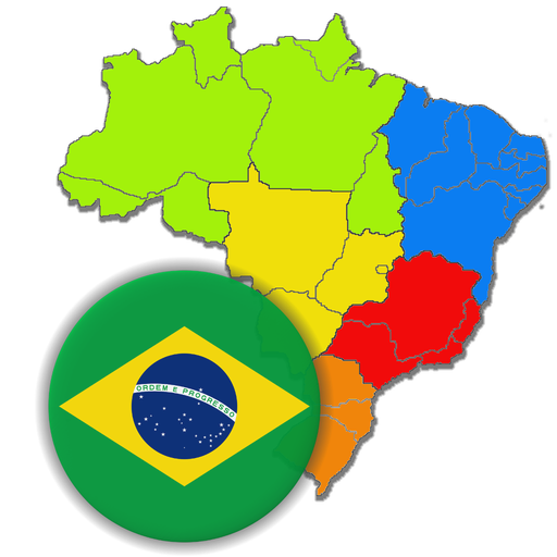 Brazilian States - Quiz about Flags and Capitals (game)