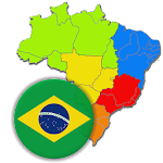 Brazilian States - Quiz about Flags and Capitals Icon