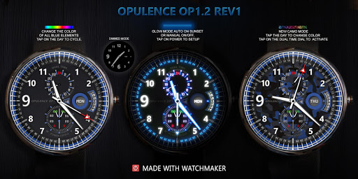 Opulence OP1.2 Watch Face