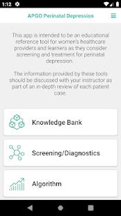 Download APGO Perinatal Depression For PC Windows and Mac apk screenshot 1