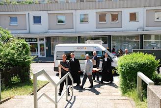 Photo: Ankunft an der Bodelschwinghkirche