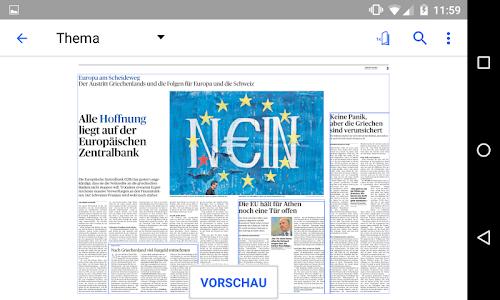 Zofinger Tagblatt - E-Paper screenshot 2