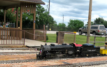Photo: 1318    Texas State Railroad #400    HALS Public Run Day 2013-0921 at 1:18 after all the passengers have had a ride.  RPW