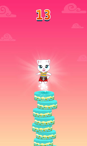 Talking Tom Cake Jump - screenshot