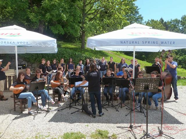 Koncert Tamburaškog društva Ferdo Livadić na Japetiću