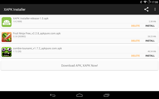 XAPK Installer screenshot 1