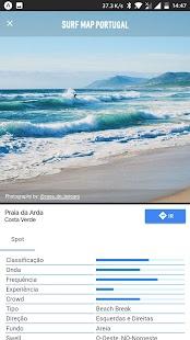 Surf Map Portugal - náhled