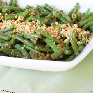 Ginger Peanut Green Beans.