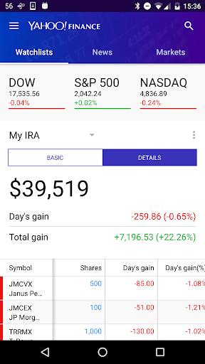 Yahoo Finance 3.16.0 screenshots 2