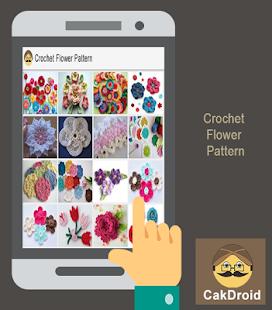Crochet Flower Pattern - náhled