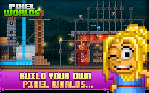 Pixel Worlds: MMO Sandbox Mod Apk Download For Android and Iphone 4