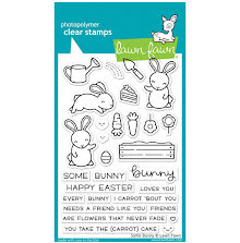 Lawn Fawn Clear Stamps 4X6 - Some Bunny