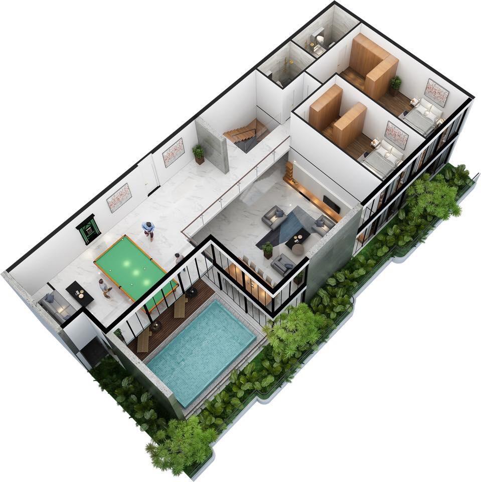 thiết kế căn hộ sunshine horizon