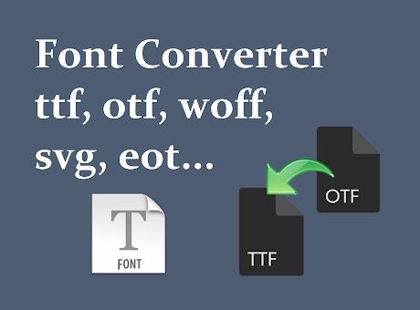 Font Converter