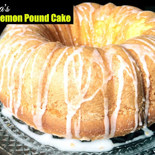 Nana's Easy Lemon Pound Cake.