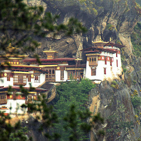 Tiger's Nest by Teza Del - Travel Locations Landmarks ( pwclandmarks )