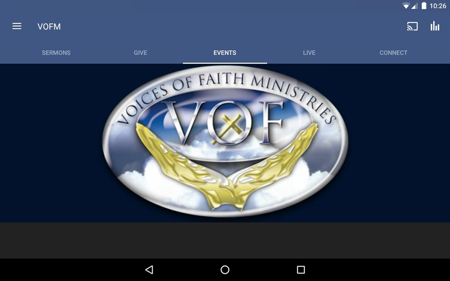 Voices Of Faith Ministries- screenshot
